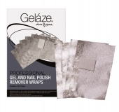 Gelaze Professional Gel & Nail Polish Remover Wraps 100ct - Фольга для удаления гелевого лака, 100 ш