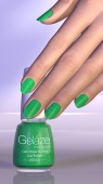 "Gelaze Gel-n-Base Polish In the Lime Light, 9.76 мл.- гель-лак ""Сочный лайм"""